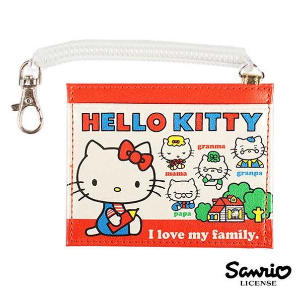 sightme看過來購物城:【日本進口正版】凱蒂貓HelloKitty皮質彈力票卡夾票夾防潑水三麗鷗Sanrio-856828