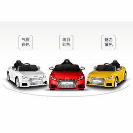 【淘氣寶寶】原廠授電動車Audi 奧迪TTS烤漆版電動車【2.4G/雙驅/緩起步/手動/搖控2段】