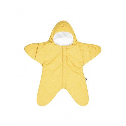 BabyBites 西班牙鯊魚咬一口 嬰兒包巾睡袋(標準版)小海星-鵝蛋黃★愛兒麗婦幼用品★ - 限時優惠好康折扣