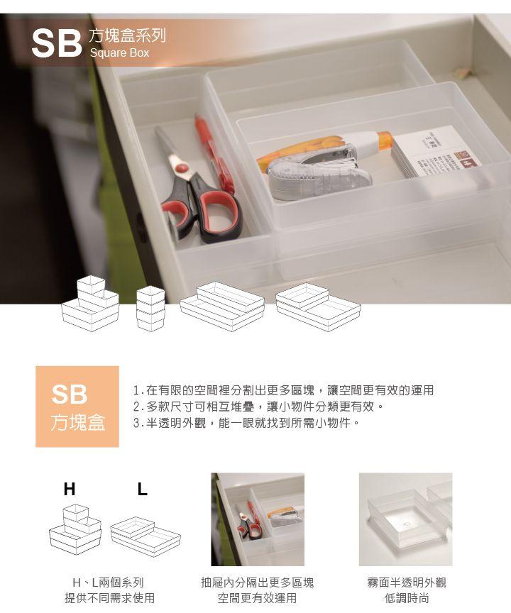 樹德SHUTER 方塊盒 SB-0714H | PQ Shop