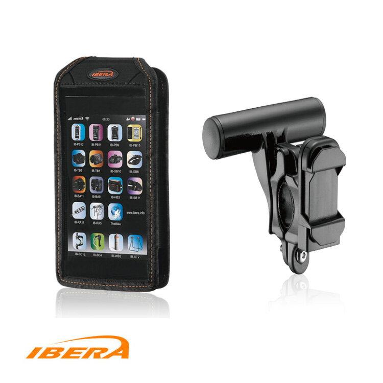 IBERA 6吋手機袋 IB-PB17+Q6/城市綠洲(手機袋、自行車)