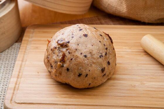 紫米桂圓黑糖饅頭(6入)