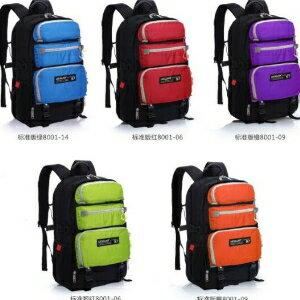美麗大街【LF476】戶外登山背包時尚運動雙肩包多功能商務電腦包學生書包