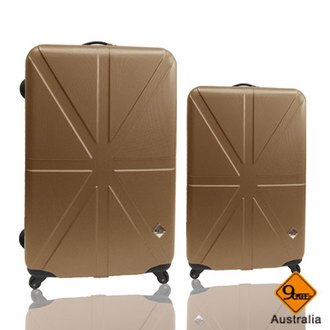 Gate9 米字英倫系列超值兩件組24吋+20吋輕硬殼旅行箱/行李箱 1