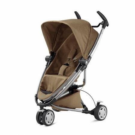 【贈提籃+專用杯架+搖搖椅】荷蘭【Quinny】Zapp Xtra2嬰兒推車(銀管咖) 1