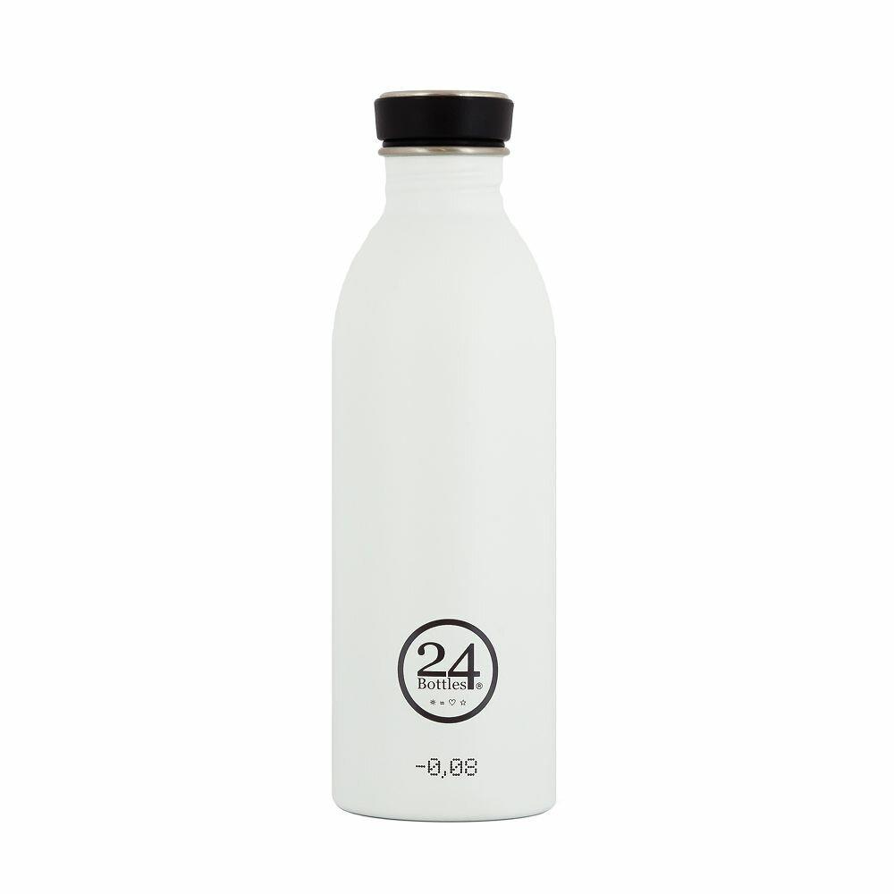 24 Bottles 城市水瓶500ml - 冰雪白