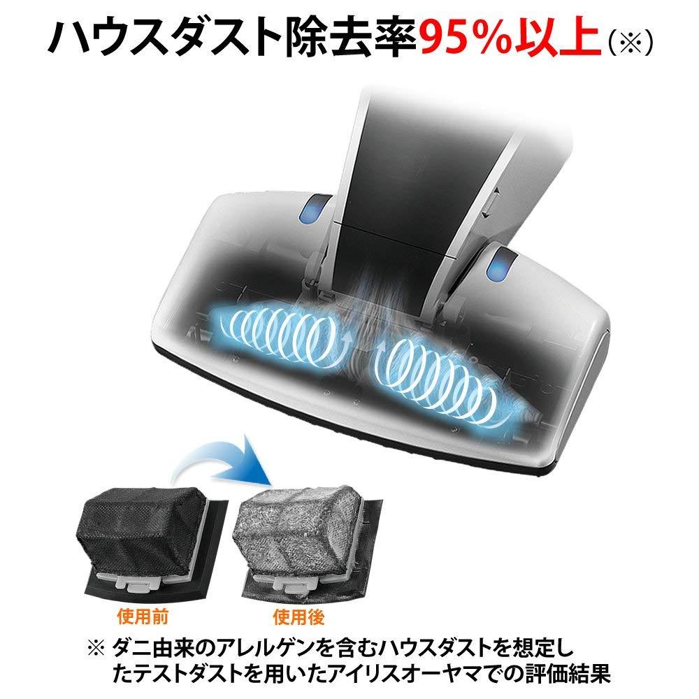 【代購】日本原廠正品 IRIS OHYAMA IC-FDC1 無線式紫外線殺蹣 超吸引除螨吸塵器 白 / 粉【星野日貨】 3