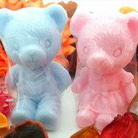 婚禮小物推薦到婚禮小物-情侶熊手工皂 (一組5入) 可愛小熊/甜點皂/節日禮品【棠逸手作皂 】
