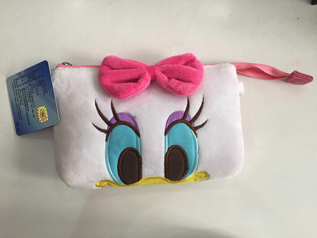 黛西 迪士尼 背包 化妝包 隨身包 肩背包 側背包 斜背包 零錢包 附背袋背繩