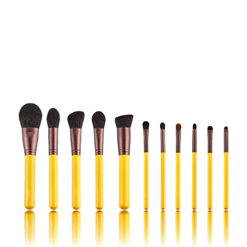 【艾諾琪】小黃鴨化妝刷11件套組