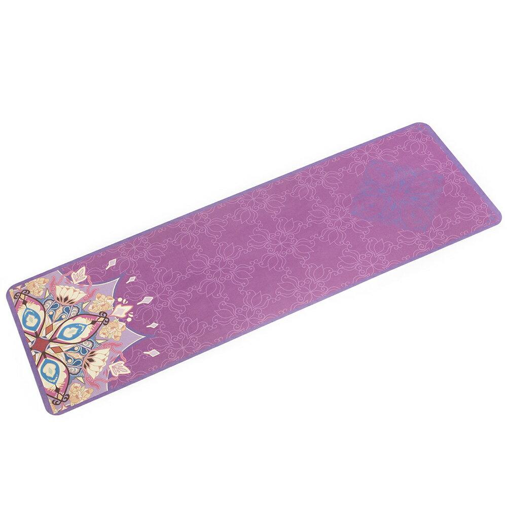 52s 超細纖維瑜珈舖巾墊 曼陀羅花紋 HSC-YGTL-NR01(附贈收納背袋、吊繩) 1