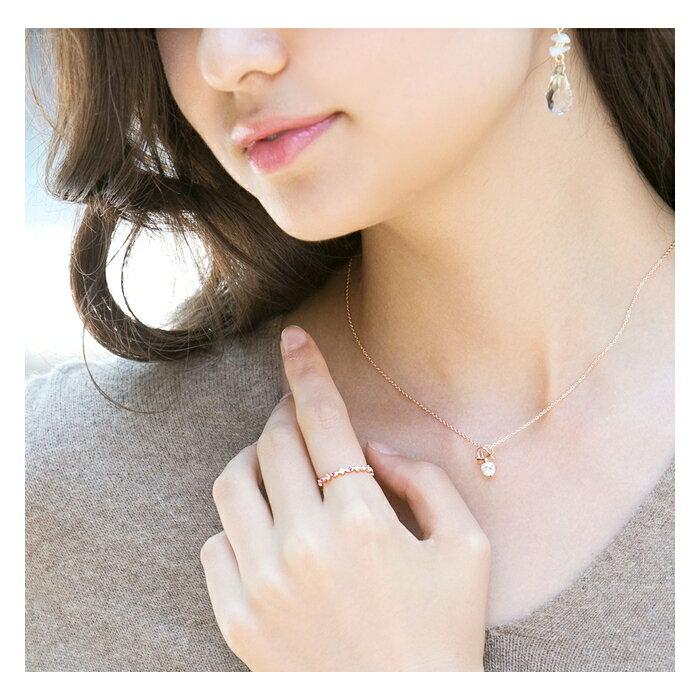 日本CREAM DOT  /  リング 指輪 アクセサリー バイオレットカラー ビジュー ジルコニア CZリング 5号 11号花冠 シンプル ゴールド シルバー デイリー レギュラーリング 結婚式  /  qc0251  /  日本必買 日本樂天直送(1190) 8