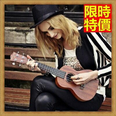 烏克麗麗  ukulele-小花繪畫椴木合板23吋夏威夷吉他四弦琴弦樂器2款69x10【獨家進口】【米蘭精品】