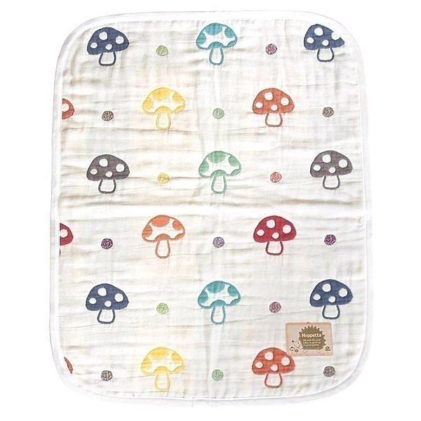 現貨 日本製 HOPPETTA 6重紗蘑菇被 蘑菇 磨菇 六重紗蘑菇被 S號 尺寸