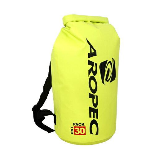 【【蘋果戶外】】AROPECDBG-WG28-30L-YL黃30公升防水背包防水袋乾式袋亞洛沛