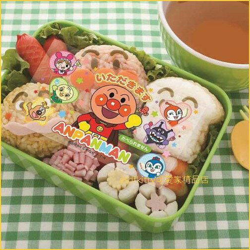 asdfkitty可愛家☆日本BANDAI麵包超人章魚熱狗便當抗菌紙抗菌隔菜板-日本製