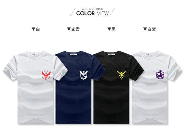 ☆BOY-2☆【PPK82145】KUSO短T 陣營隊服短袖T恤 1