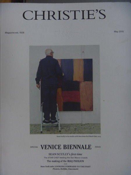 【書寶二手書T3/收藏_QIZ】Christies The Art People_2015/5_Venice..等