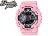女生 BEETLE PLUS 全新 G-SHOCK WATCH GMA CASIO 淡粉 黑金 桃紅 電子錶 指針 手錶 GMA-S110MP-4A2CR - 限時優惠好康折扣