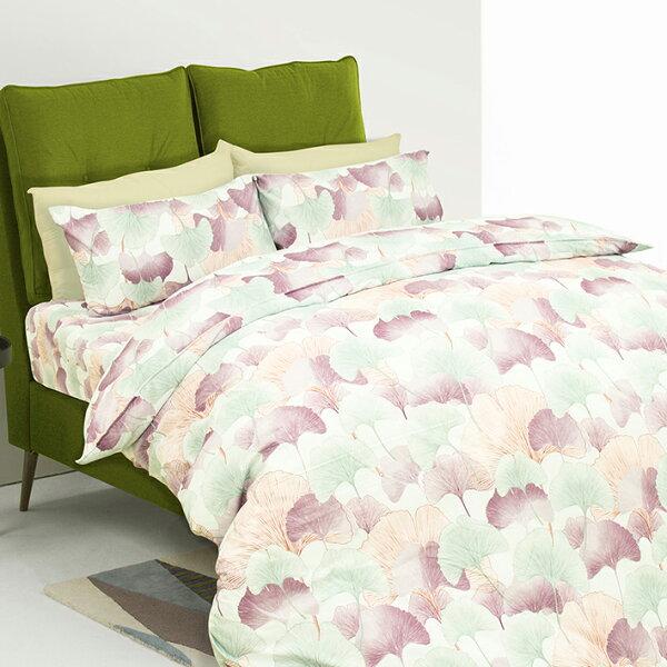 【杏樹林】MIT天鵝絨吸濕排汗床包兩用被套組