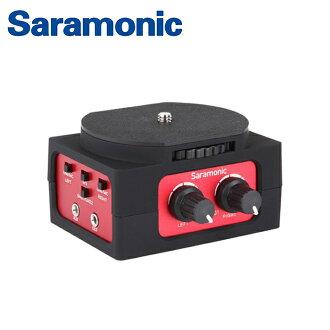 ◎相機專家◎ Saramonic 單眼相機 攝影機混音器 SR-AX101 音頻轉換器 收音 錄影 公司貨