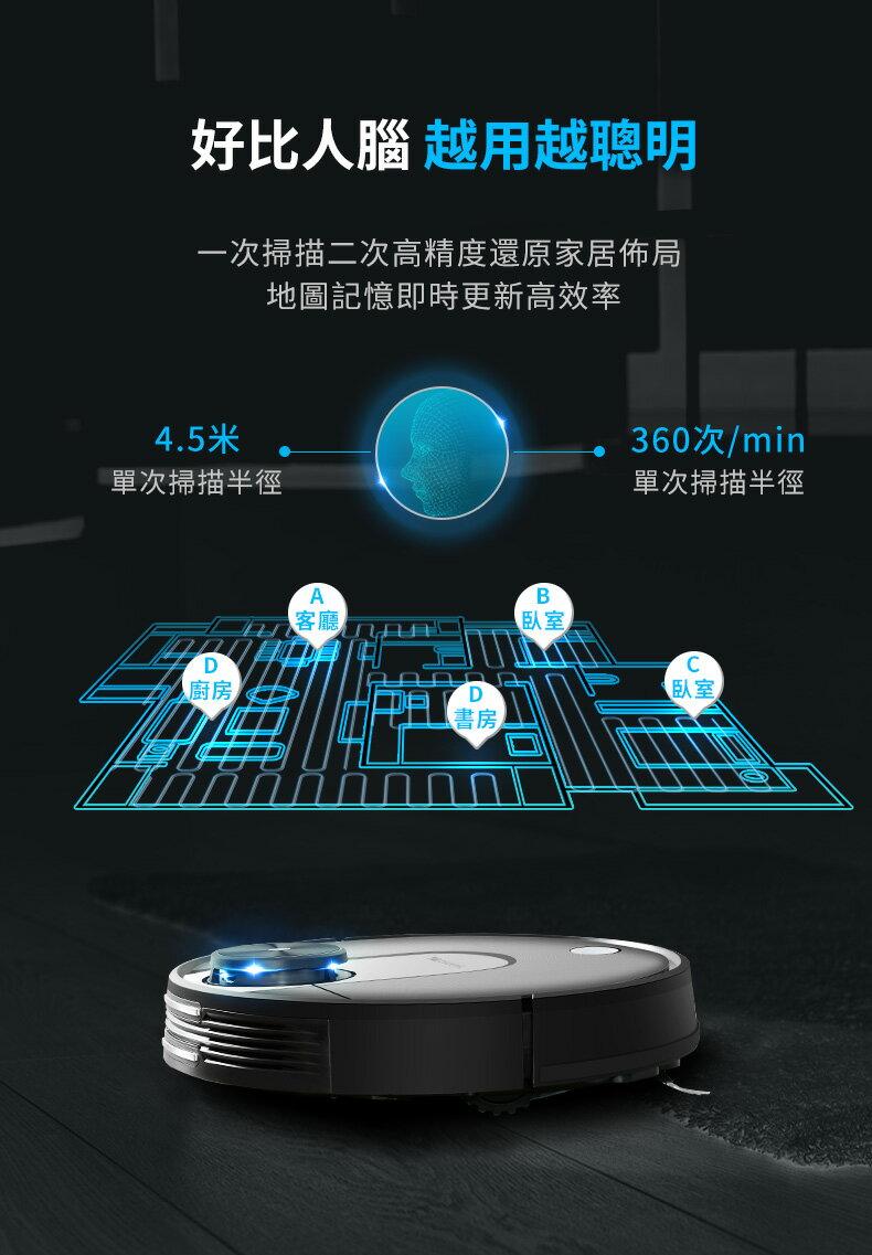 領券再折$168【Proscenic】台灣浦桑尼克 M7 WIFI雷射導航智慧型掃地機器人 7