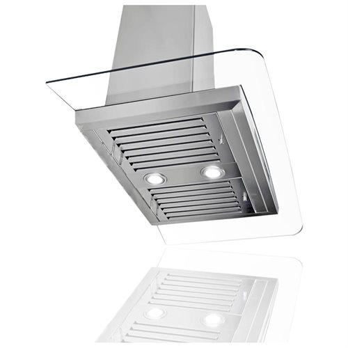 "AKDY NEW 30"" GV-198KZ4-30 Stainless Steel Kitchen Wall Range Hood w/Flat Baffle Filters 3"