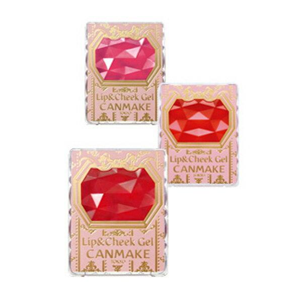 日本 canmake Lip & Cheek Gel 泛紅雙效胭脂唇膏