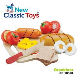 免運費《 荷蘭 New Classic Toys 》木製廚具 - 輕食早餐切切樂10件組