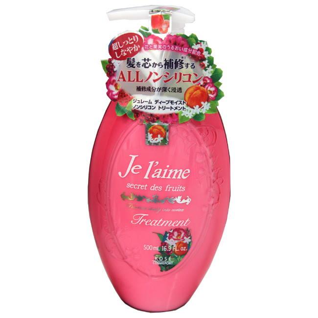 KOSE 滋潤護色潤髮乳-紅色花果香500ml