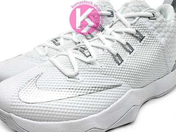 2016年 NBA LeBRON JAMES 子系列代言鞋款 戶外專用鞋款 NIKE AMBASSADOR IX 9 全白 銀灰白 大使 HYPERFUSE + FLYWIRE 鞋面科技 前 後 ZOOM AIR 氣墊 (852413-100) 1216 2