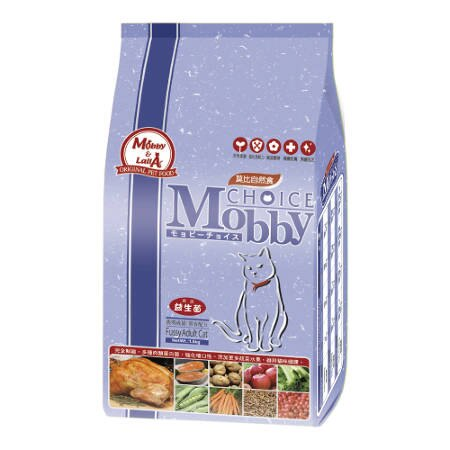 Mobby 莫比 自然食 挑嘴貓 成貓 專用配方1.5kg