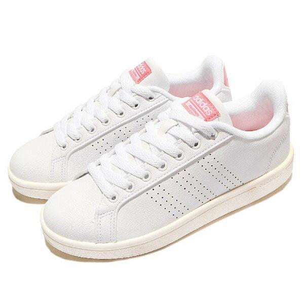 《限時7折》【ADIDAS】CLOUDROM ADVANTAGE CLEAN W 休閒鞋NEO 白色(女)-AW3974