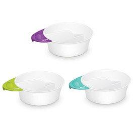 【悅兒樂婦幼用品?】NUK 趣味雙格副食品哺餵小碗