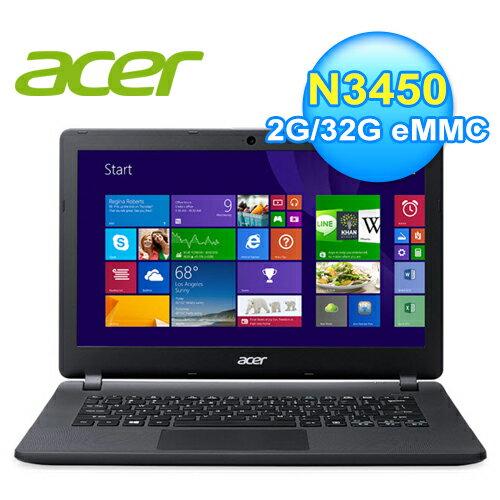 AcerES1-332-COMM13.3吋四核心Win10超值文書筆電【三井3C】