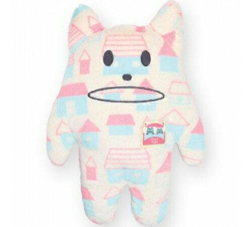 【預購】日本CRAFTHOLIC 宇宙人 - 愛你傳情熊寶貝枕 - 奶油喵星人 - 限時優惠好康折扣
