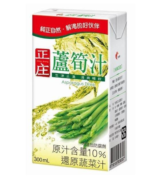 光泉正庄蘆筍汁-鋁箔包300ml(24入/箱) 【合迷雅好物商城】