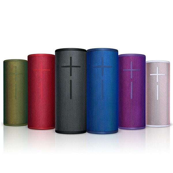 『UE』Ultmate Ears Boom 3 360度全向性無線藍牙喇叭—黑、紅、藍、粉、綠、紫