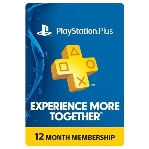 PlayStation Plus 12 Month Membership Card (PHYSICAL CARD)