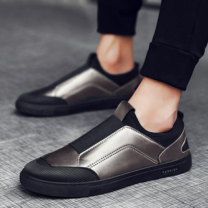 夏季正韓潮流懶人一腳蹬男士豆豆鞋男鞋