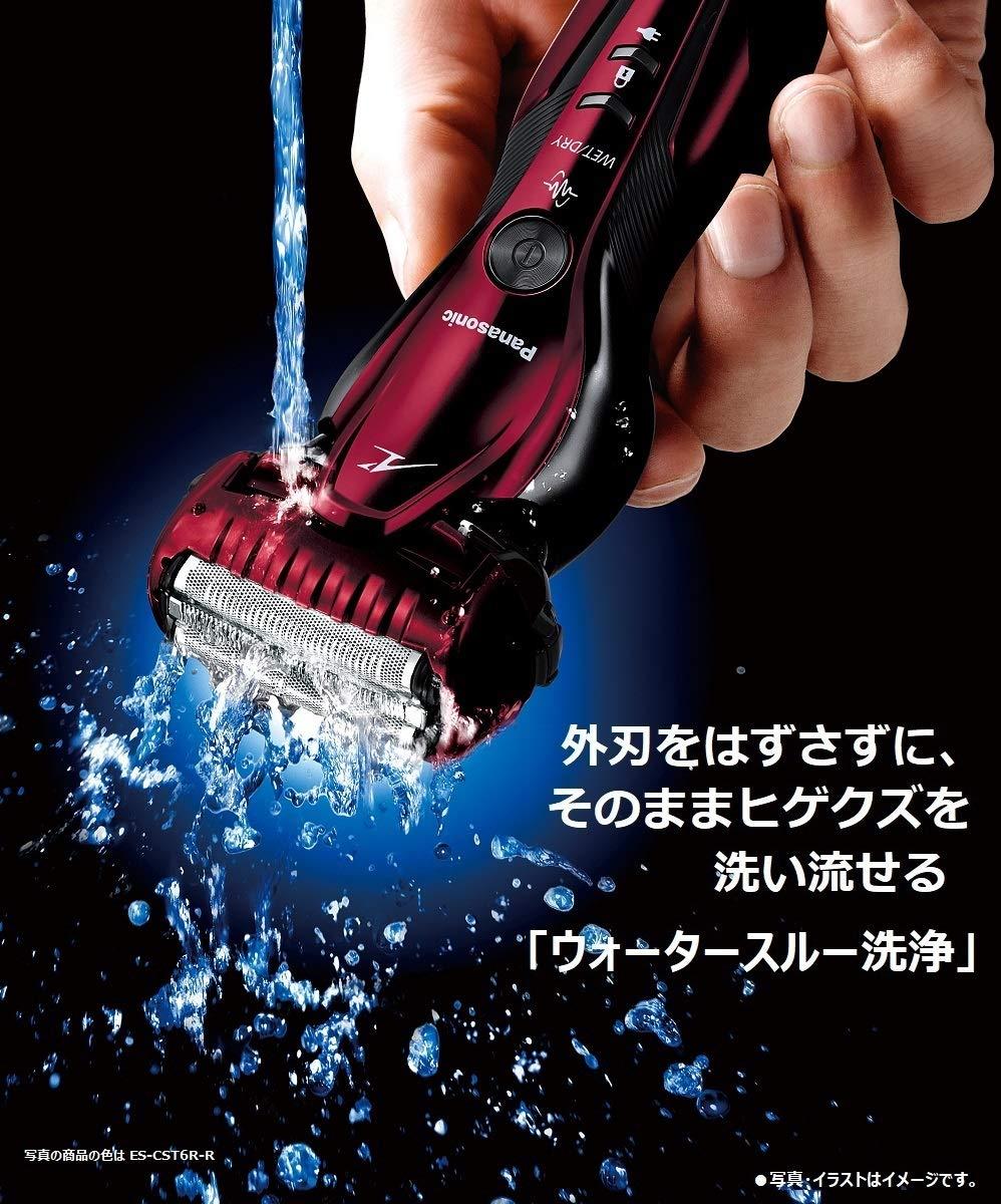 嘉頓國際 國際牌 PANASONIC【ES-ST6R】電動刮鬍刀 電鬍刀 滑順刀頭 電鬍刀 水洗 全機防水 7