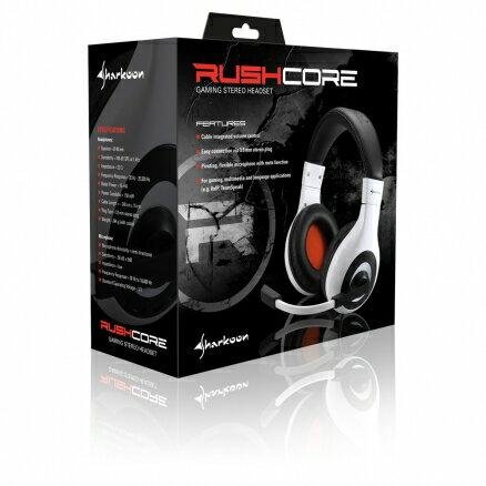 旋剛 Sharkoon Rush Core 突擊者PRO 電競耳機 電競耳麥 遊戲耳機 耳機麥克風 電腦耳機【迪特軍】