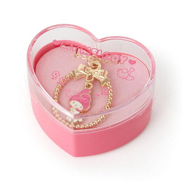 【真愛日本】4901610379103造型項鍊附盒-MM加ACR美樂蒂Melody三麗鷗項鍊附禮盒造型項鍊
