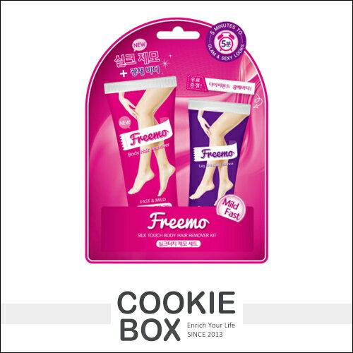 韓國 Freemo 除毛膏 50ml + 腿部 修護 精華30ml 超值組合 快速 溫和 不刺激 乾淨 *餅乾盒子*