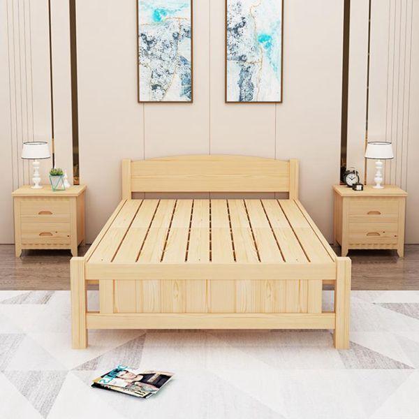 【618購物狂歡節】折疊床 折疊床實木單人床1.2米簡易床成人午休床雙人家用經濟型木板床