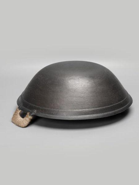 滕州鐵鍋家用老式雙耳鐵鍋燃氣用生鐵鍋無涂層鑄鐵鍋圓底輕便炒鍋