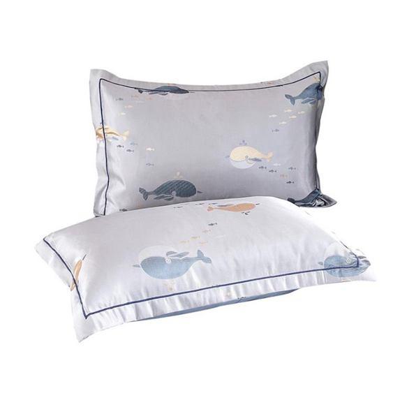 枕套 冰絲枕套夏季枕頭套單雙人學生單個兒童涼席枕芯套48x74cm一對裝全館促銷限時折扣