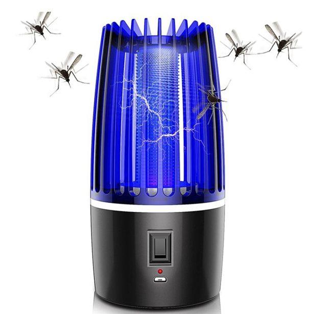 電擊家用室內靜音驅蚊器充電戶外捕蚊子防蚊滅蚊神器黑科技全館免運限時優惠