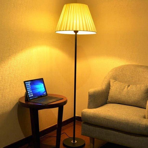 落地燈客廳臥室床頭過道現代創意溫馨裝飾LED遙控餵奶落地台燈全館免運限時優惠