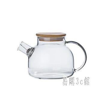 日式創意玻璃壺耐熱泡茶壺冷水壺家用大容量透明玻璃花茶壺套裝 aj5032